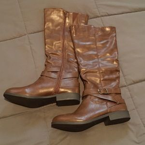 Chocolate Riding Boots